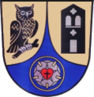 Nohra - Image: Wappen Nohra (bei Weimar)