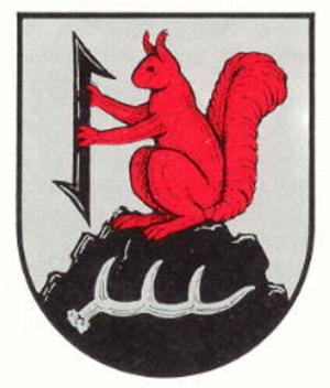 Hirschhorn, Rhineland-Palatinate - Image: Wappen von Hirschhorn