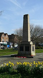 War Memorial, Wallington Green - geograph.org.uk - 1208900.jpg