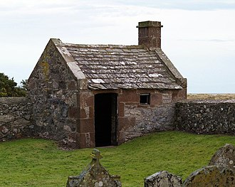 St Cyrus - Watch House at Kirkside Cemetery