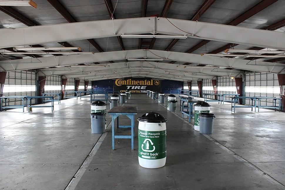 Watkins Glen International Garage Area
