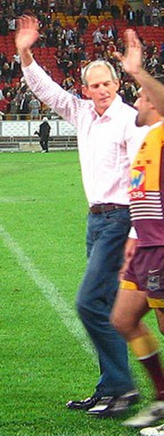 Wayne Bennett (rugby league) - Bennett and Tonie Carroll at Suncorp Stadium in 2008