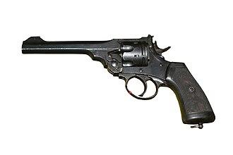 Webley & Scott - The famous Webley Mk VI, standard sidearm of the British Army 1915–1932