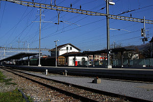 Weinfelden railway station - Image: Weinfelden 04