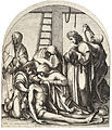Wenceslas Hollar - Descent from the cross, after Holbein 2.jpg