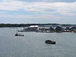 Westport Point seen from the MA Route 88 Bridge, Westport Point MA.jpg