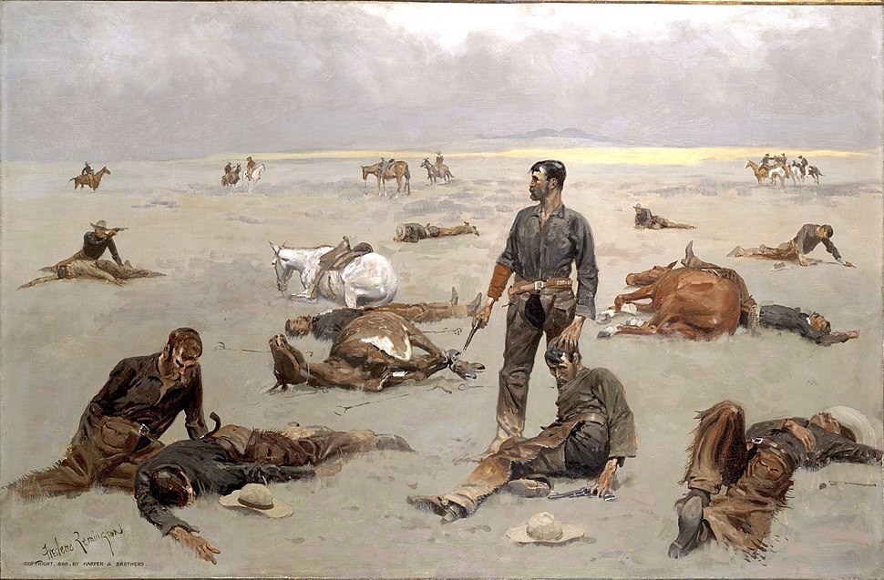 What an Unbranded Cow Has Cost by Frederic Remington 1895.jpeg