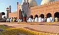 Where is the ladies section? - Badshahi Mosque courtyard.jpg
