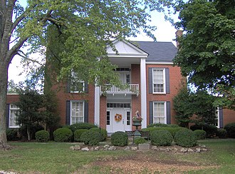 White Plains (Cookeville, Tennessee) - Image: White plains front facade tn 1