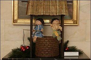 Tikki Tikki Tembo - A White House 2003 Christmas decoration depicting a scene from Tikki Tikki Tembo