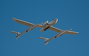 SpaceShipOne - White Knight One launch aircraft