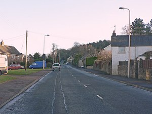 Ewenny - Image: Wick Road, Ewenny geograph.org.uk 1146615