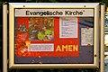 Wickrath, Evang. Gemeindezentrum Infotafel.JPG