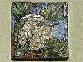 Wien-Penzing - Gemeindebau Hadikgasse 268-272 - Stiege 12 - Mosaik Karfiol - Georg Samwald 1953-54.jpg