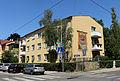 Wien-Penzing - Haus mit Mosaik Weinpresse von Georg Samwald 1961.jpg