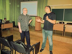 Wiki Party in Moscow 2013-05-18 (Before; Krassotkin; 10).JPG