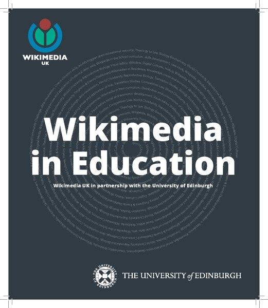Wikimedia in Education - Wikimedia UK in partnership with the University of Edinburgh