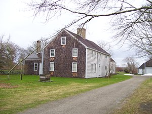 Little Compton, Rhode Island - Wilbor House, built in 1692, is now a museum