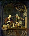 Willem van Mieris, The Cheese Shop, 1705.jpg