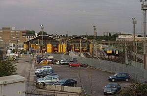 Willesden Traction Maintenance Depot - Image: Willesden Junction station MMB 34 Willesden TMD 313107 172XXX 87002 313XXX 378XXX 378XXX 86101