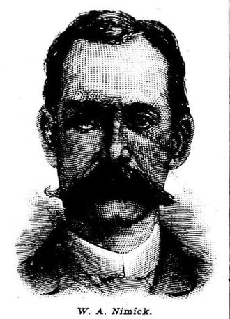 William A. Nimick - Nimick in the May 19, 1888 edition of the National Police Gazette