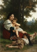 William Adolphe Bouguereau - Rest - 432.1915 - Cleveland Museum of Art.tiff