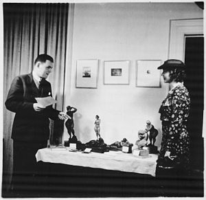 Leslie Garland Bolling - William D. Cox exhibit of Leslie Bolling's work