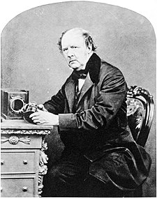 William Henry Fox Talbot, en una fotografía de 1864.