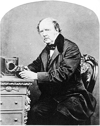 Henry Fox Talbot - William Henry Fox Talbot, by John Moffat, 1864.