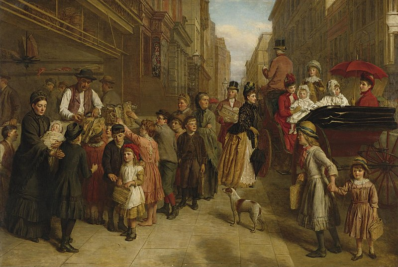 File:William Powell Frith - Poverty and Wealth (1888).jpg