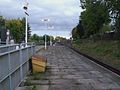 Wimbledon Park stn look south to Wimbledon.JPG