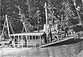 Winema under salvage post sinking August 1907.jpg