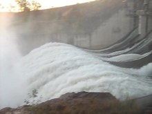 File:Wivenhoe Dam Spillway Open Video.ogv