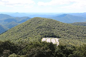 Geography of Georgia (U.S. state) - View from Brasstown Bald