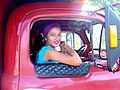 Woman in Truck Window - Holguin - Cuba.jpg
