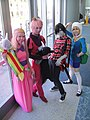 WonderCon 2012 - Adventure Time cosplay (6873502460).jpg