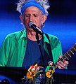 Wood, Richards onstage in Hyde Park - Rolling Stones 50 & Counting tour 2013.jpg