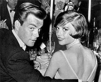 Robert Wagner - Wagner with Natalie Wood in 1960