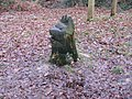 Woodland sculpture at Nymans Garden - geograph.org.uk - 1133210.jpg
