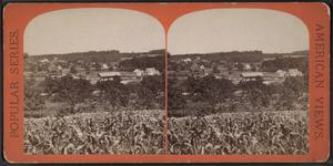 Wortendyke (NYS&W station) - Stereoscopic view