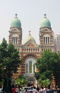 St. Joseph Cathedral (Tianjin) church building in Tianjin, China
