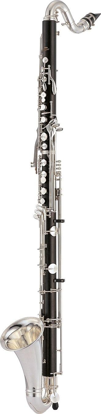 Bass clarinet - Image: Yamaha Bass Clarinet YCL 622II