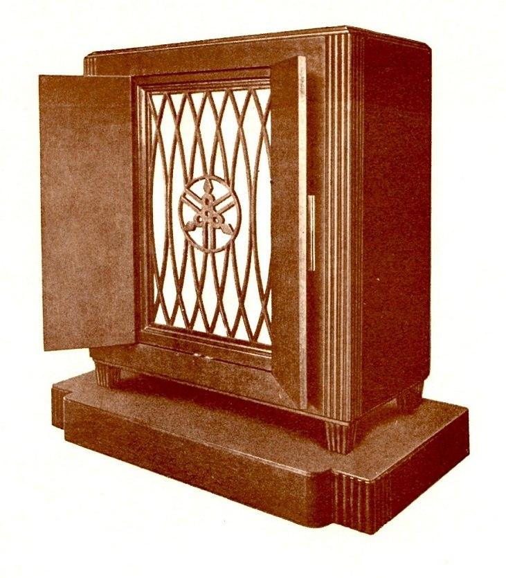 Yamaha Magna Organ (1935) Tone Cabinet