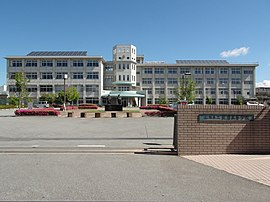 Yamanashi prefectural Koma High School.JPG