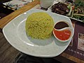 Yellow colored rice with Thailand style.jpg