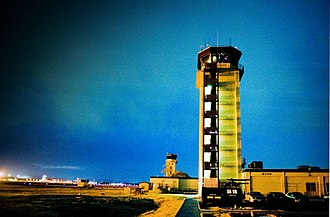 Yokota Air Base - The air traffic control tower at Yokota Air Base