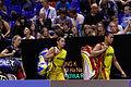 Yonex IFB 2013 - Eightfinal - Markis Kido - Pia Zebadiah Bernadeth — Chris Adcock - Gabrielle White 01.jpg