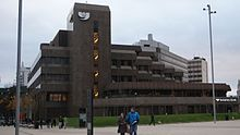 Yorkshire Bank headquarters, Leeds (16th November 2013).JPG