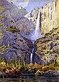 Yosemite Falls by Gunnar Widiorss, 1922, watercolor.jpg