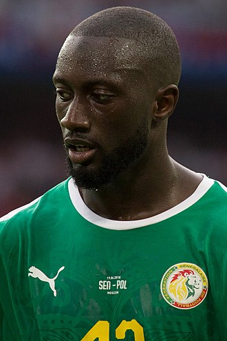 Youssouf Sabaly - Sabaly playing for Senegal at the 2018 FIFA World Cup